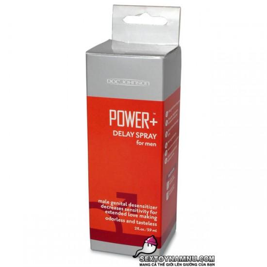 Bình xịt kéo dài thời gian quan hệ Power Plus 02