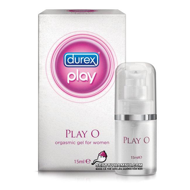 Gel bôi trơn kích thích âm đạo Durex Play O