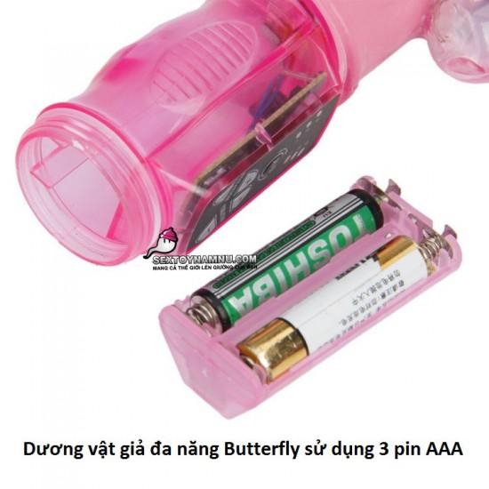 Dương vật giả đa năng Butterfly 3 pin