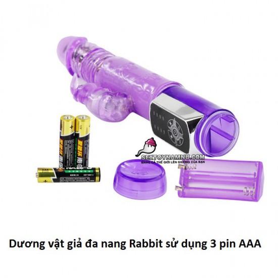 Dương vật giả đa năng Rabbit 3 pin