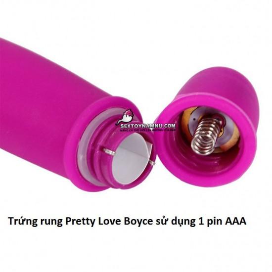 Trứng rung đầu thỏ Pretty Love Boyce 1 pin