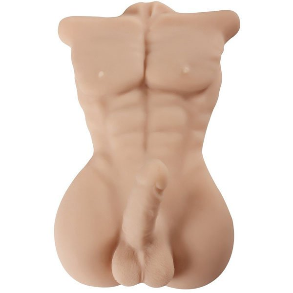 Búp bê tình dục nam nửa người bằng silicon tuyệt đẹp