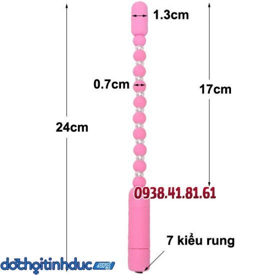 Kích thước và hướng dẫn sử dụng que kích thích hậu môn dạng chuỗi hạt