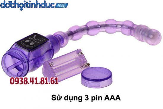 Lắp pin AAA đúng chiều và khởi động