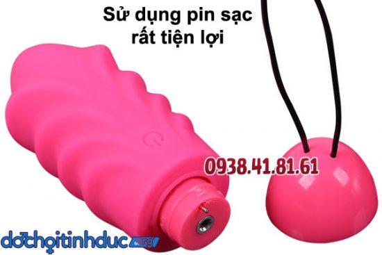 rứng rung không dây với pin sạc thông minh